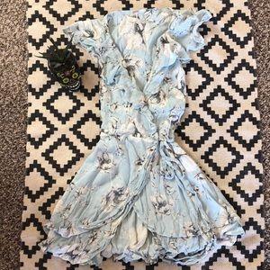 Free people wrap dress